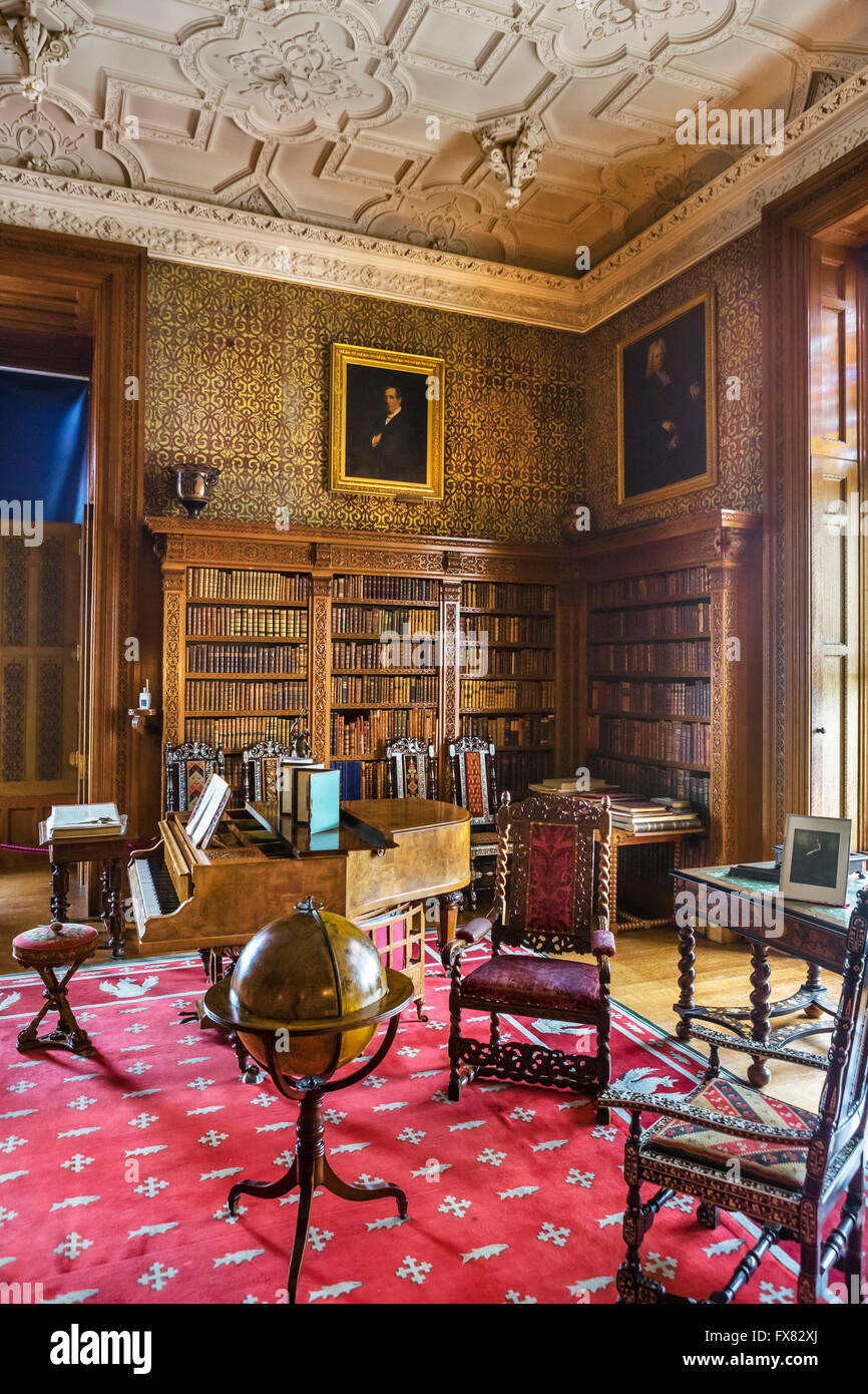 Interior Of Charlecote Park A Manor House Near Stratford