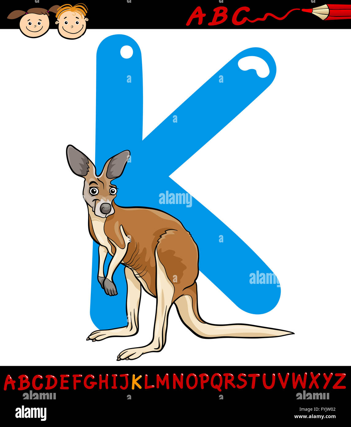 K Is For Kangaroo Stock Photos Amp K Is For Kangaroo Stock Images