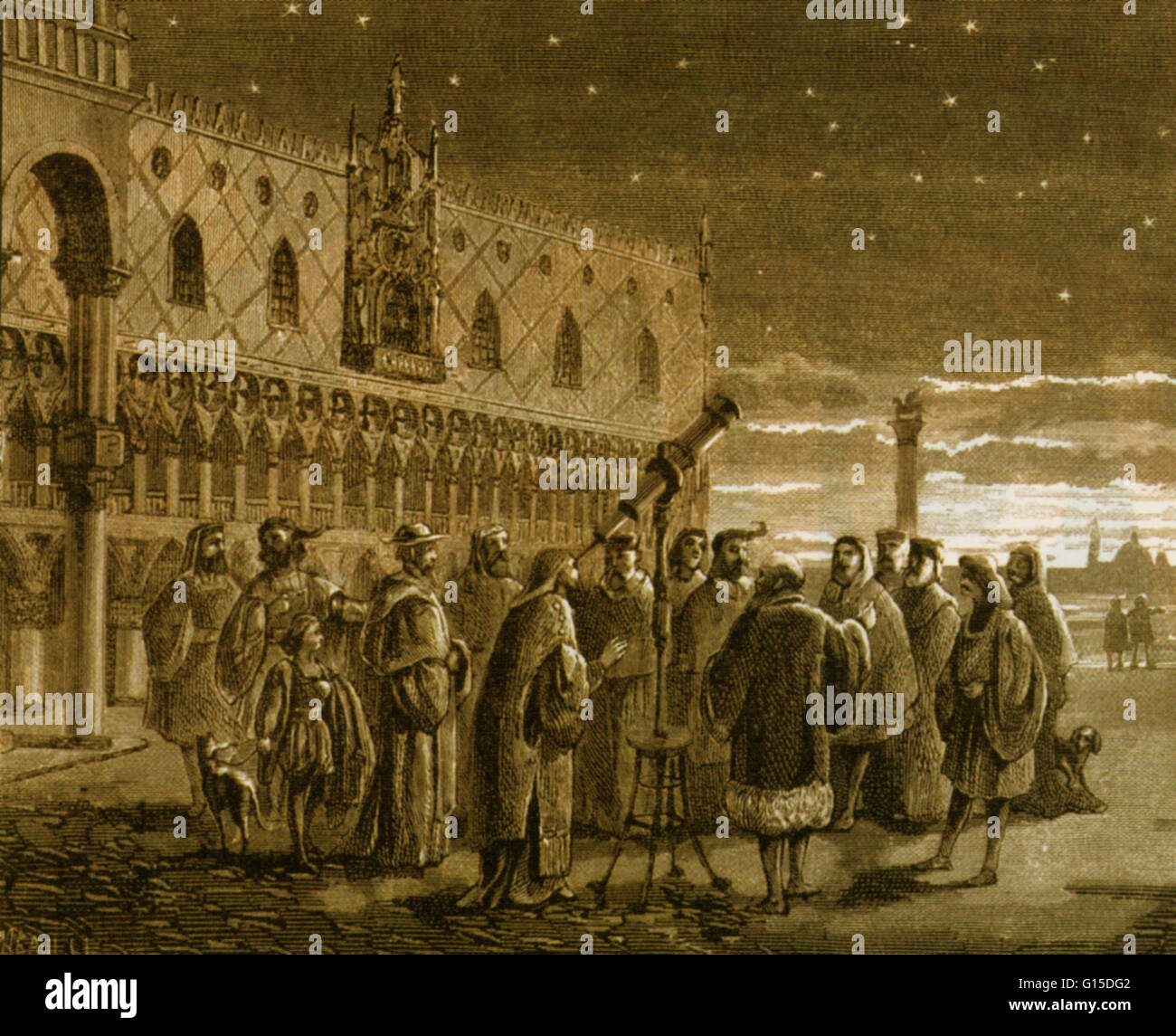 Galileo And His Telescope In Venice Galileo Shows