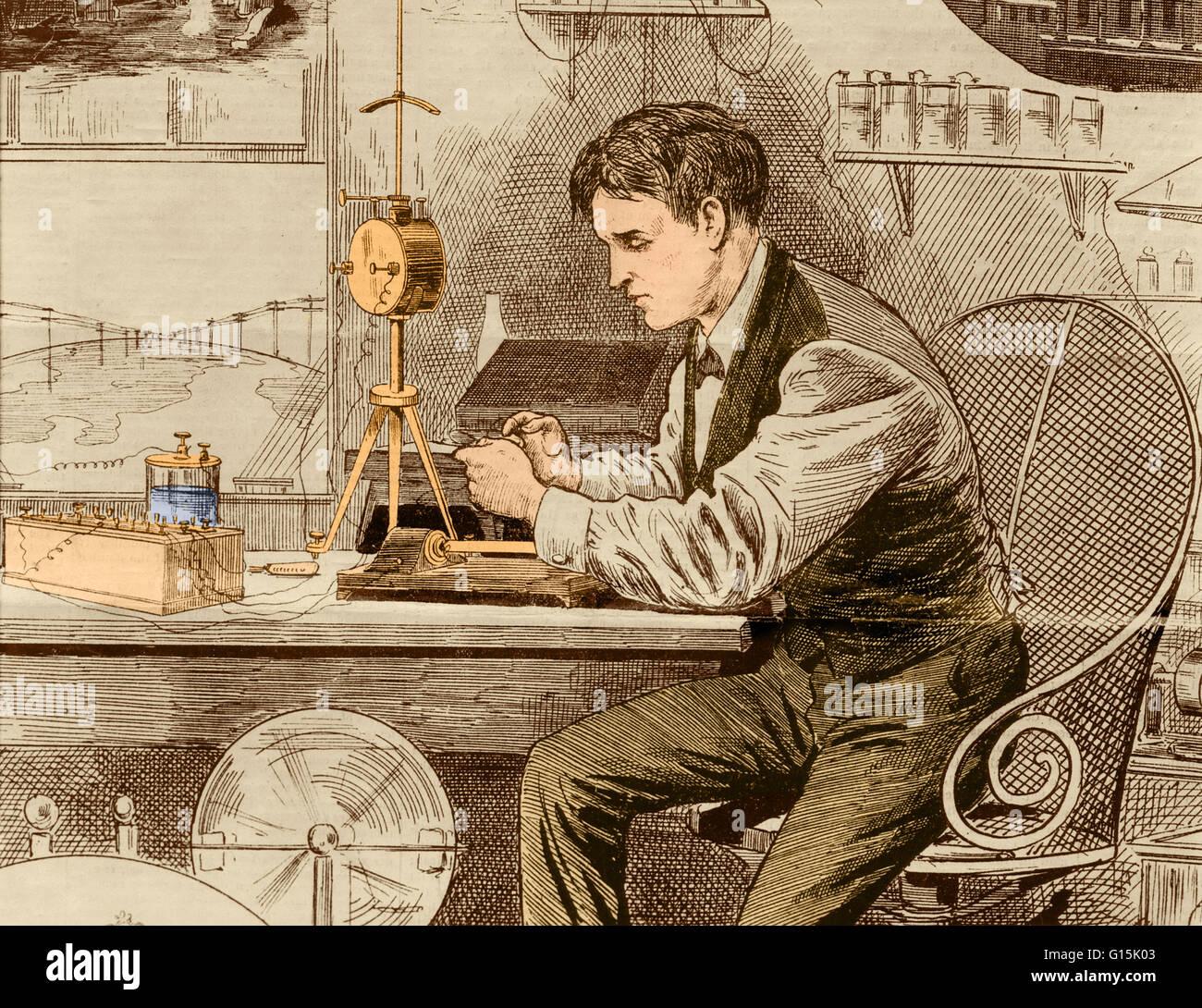 Thomas Jefferson Light Bulb Invention