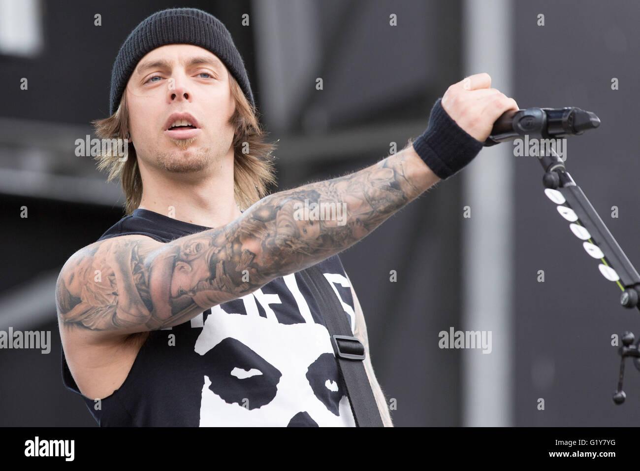 Columbus Ohio USA 20th May 2016 Musician MATTHEW TUCK