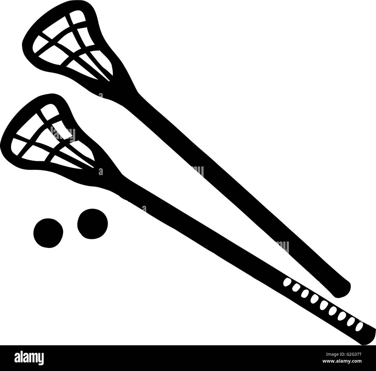 Knights Lacrosse Scarlet Rutgers Logo