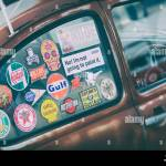 Vw Show Sticker High Resolution Stock Photography And Images Alamy