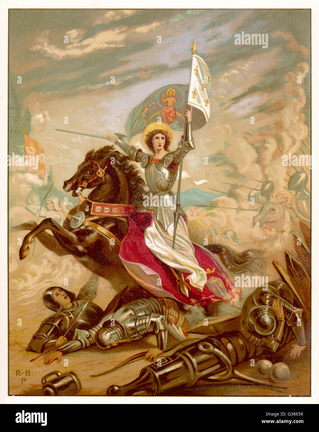 Joan Of Arc An Idealised Representation