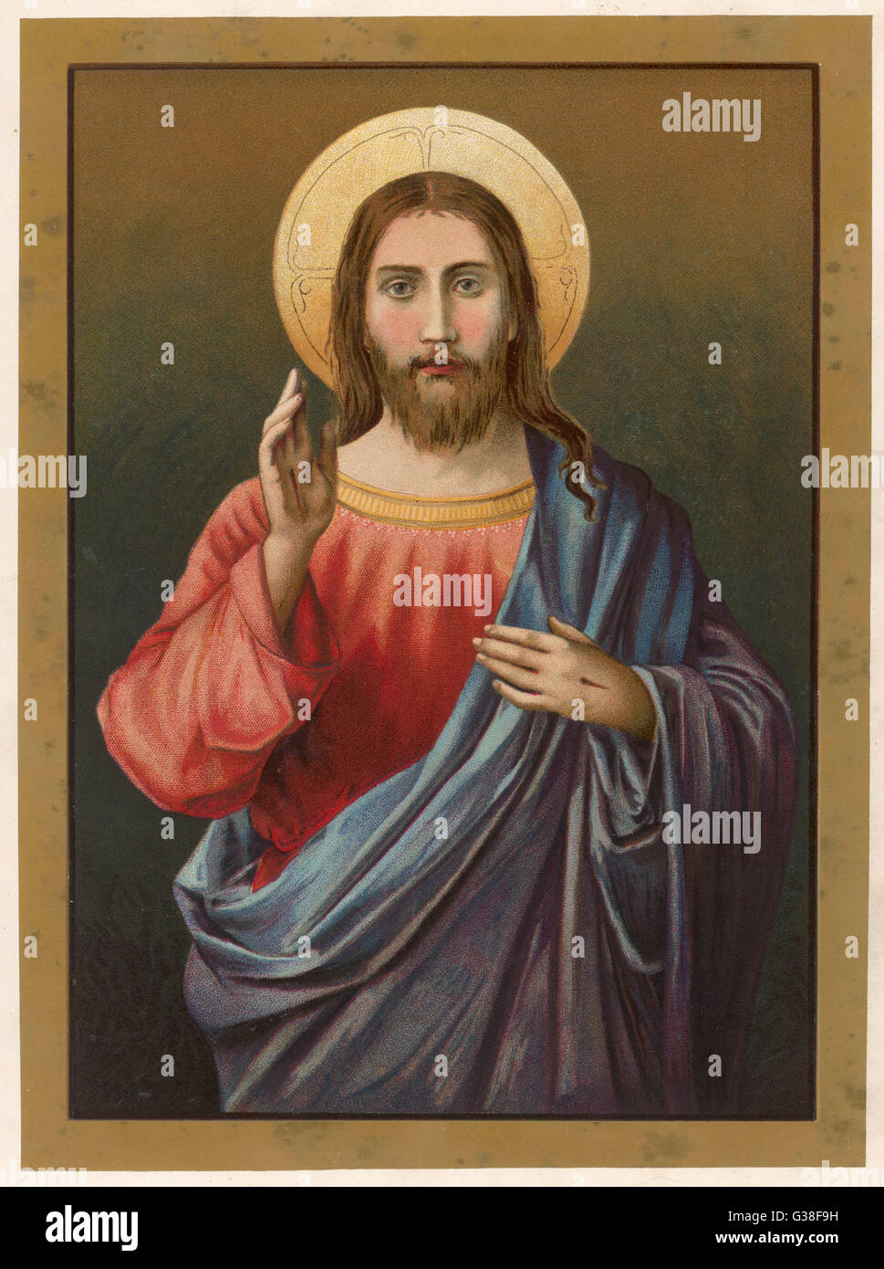 Jesus Blessing High Resolution Stock Photography And Images Alamy
