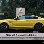 Turin Italy 8th June 2016 A Bmw M6 Competition Edition Stock Photo Alamy