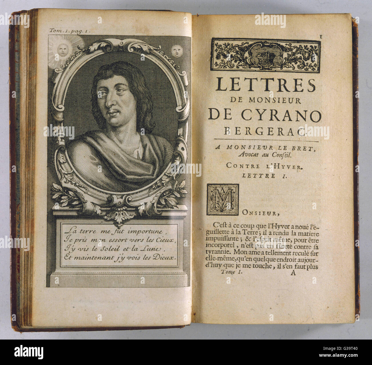 Savinien De Cyrano De Bergerac French Poet And Sol R