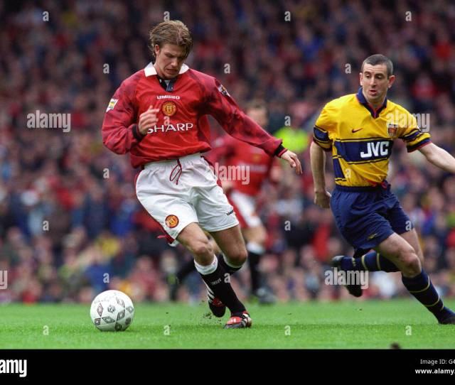 Soccer Fa Carling Premiership Manchester United V Arsenal Old Trafford