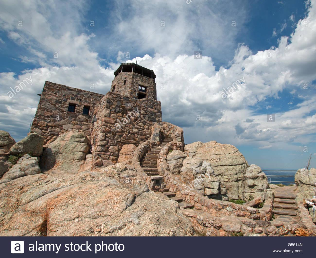 Custer Peak Lookout Tower