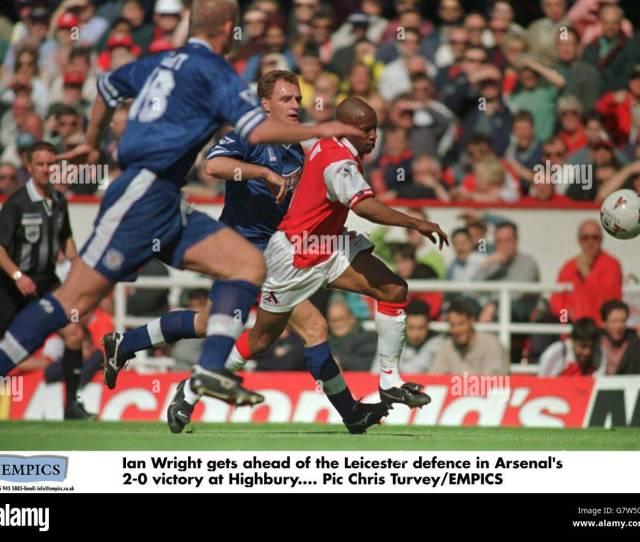 Soccer Fa Carling Premier League Arsenal V Leicester