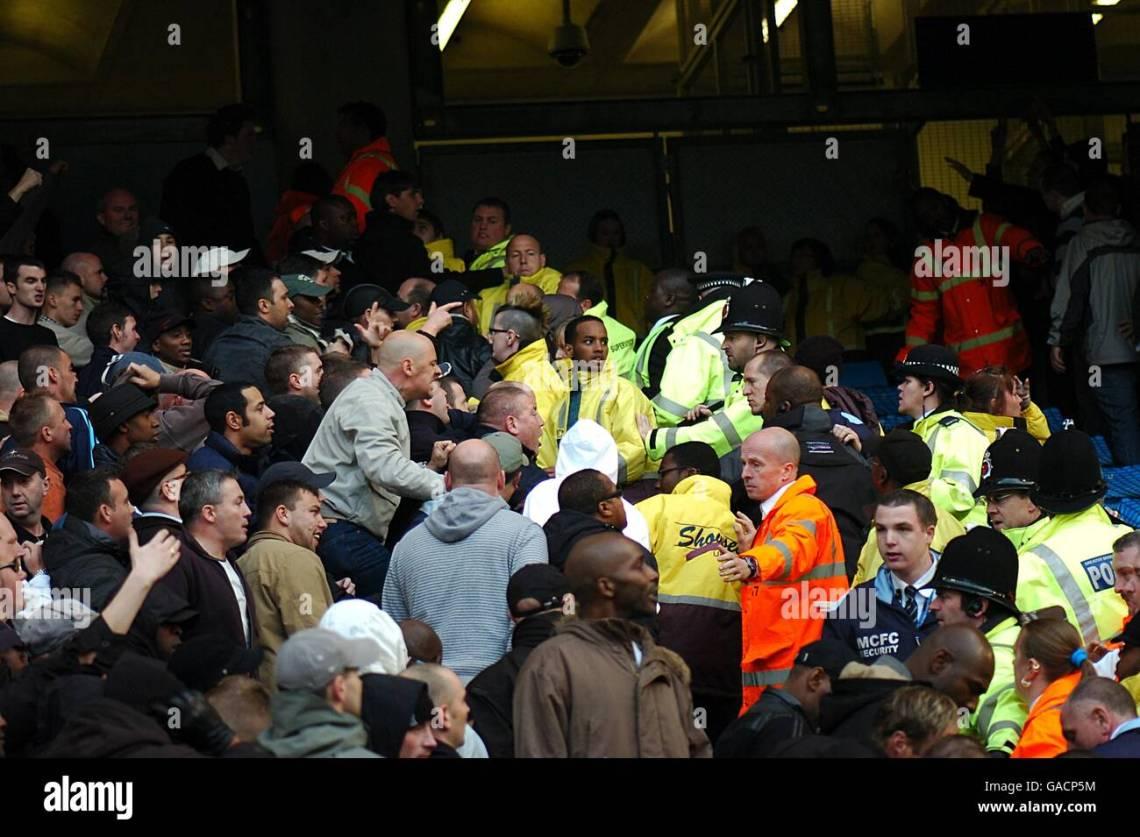 Soccer Barclays Premier League Manchester City V Birmingham City Stock Photo Alamy