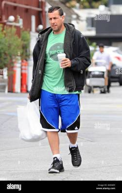 Adam Sandler and his wife Jackie Sandler out in Brentwood ...