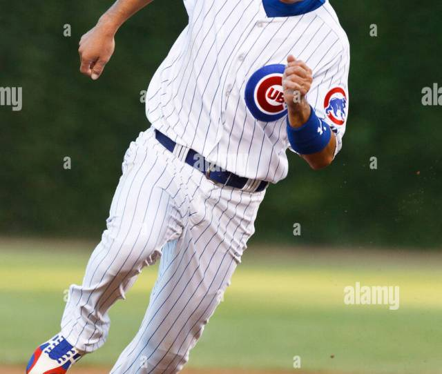 August 16 2010 Chicago Il Usa Chicago Cubs Right Fielder Kosuke