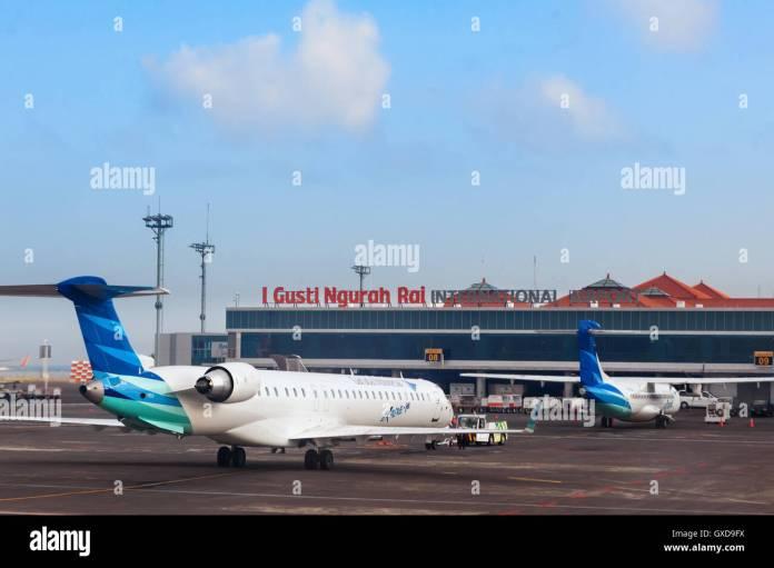 Denpasar International Airport Ngurah Rai Bali Island Indonesia Stock Photo Alamy