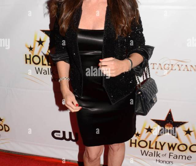 Kira Reed Lorsch Attends The Hollywood Walk Of Fame Honors At Taglyan Complex On October