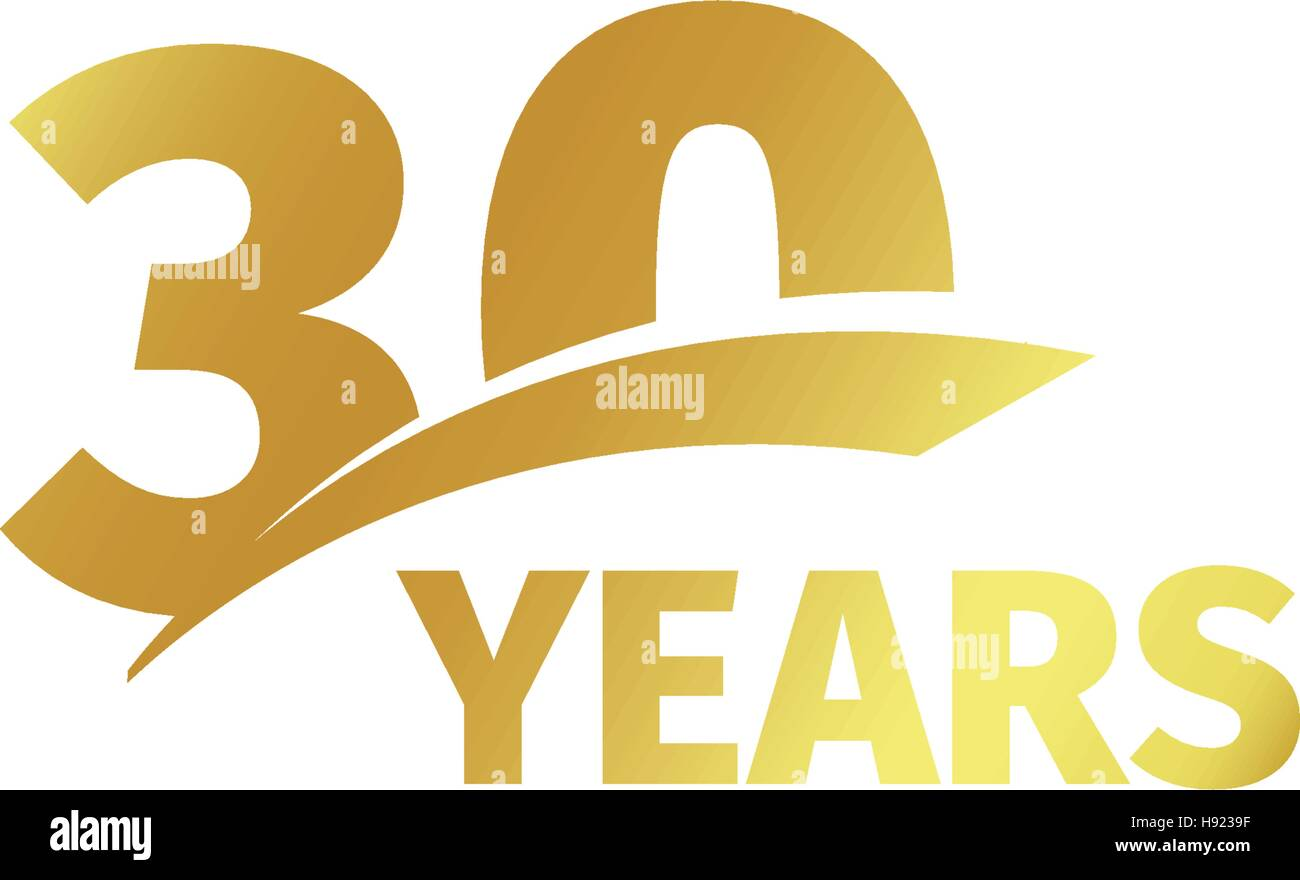 30th Years Business Logo