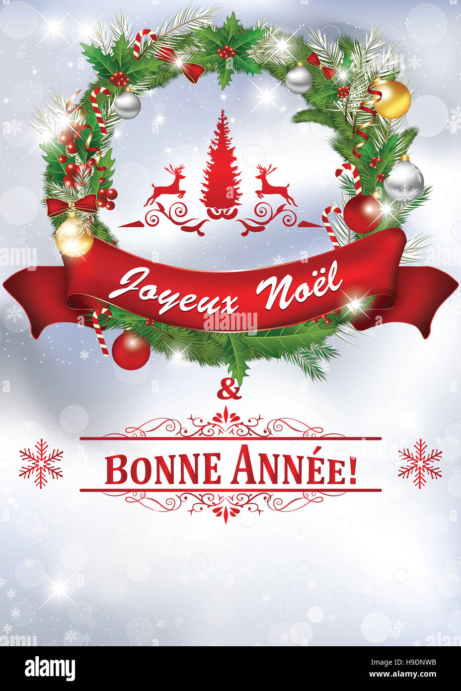 Happy And Christmas New 2017 Merry Greetings Year