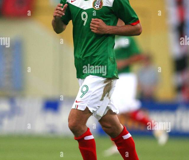Jared Borgetti Mexico Bolton Wanderers Fc World Cup Leipzig Germany