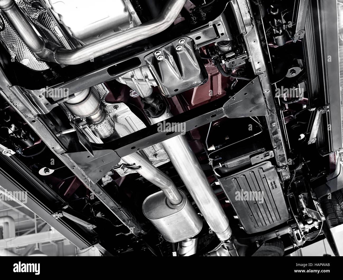 https www alamy com stock photo 2017 chevrolet silverado 1500 pickup truck bottom underside showing 127121971 html