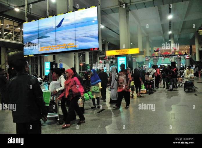 Medan Indonesia 20th Dec 2016 Kuala Namu Airport Medan Which Is Stock Photo Alamy