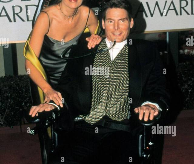 Christopher Reeve Actor 1999 Stock Image