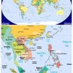 Burma Laos Thailand Cambodia Vietnam Philippines And World Stock Vector Image Art Alamy