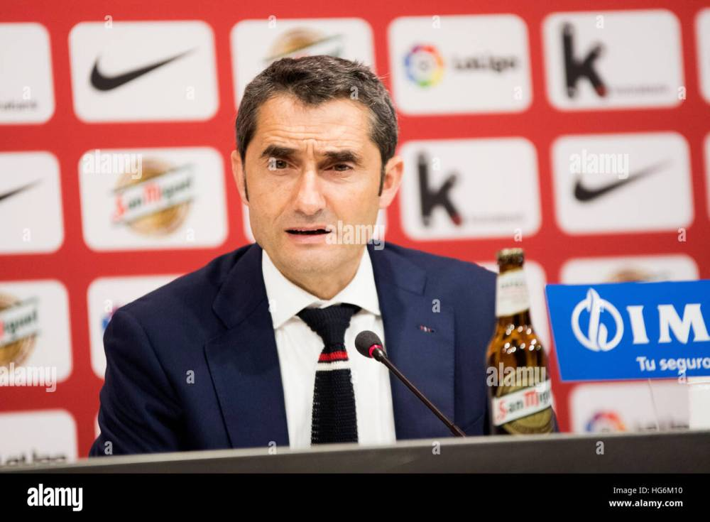 Umutoza w'ikipe ya Fc Barcelona Ernesto Valvede mu kiganiro nitangazamakuru