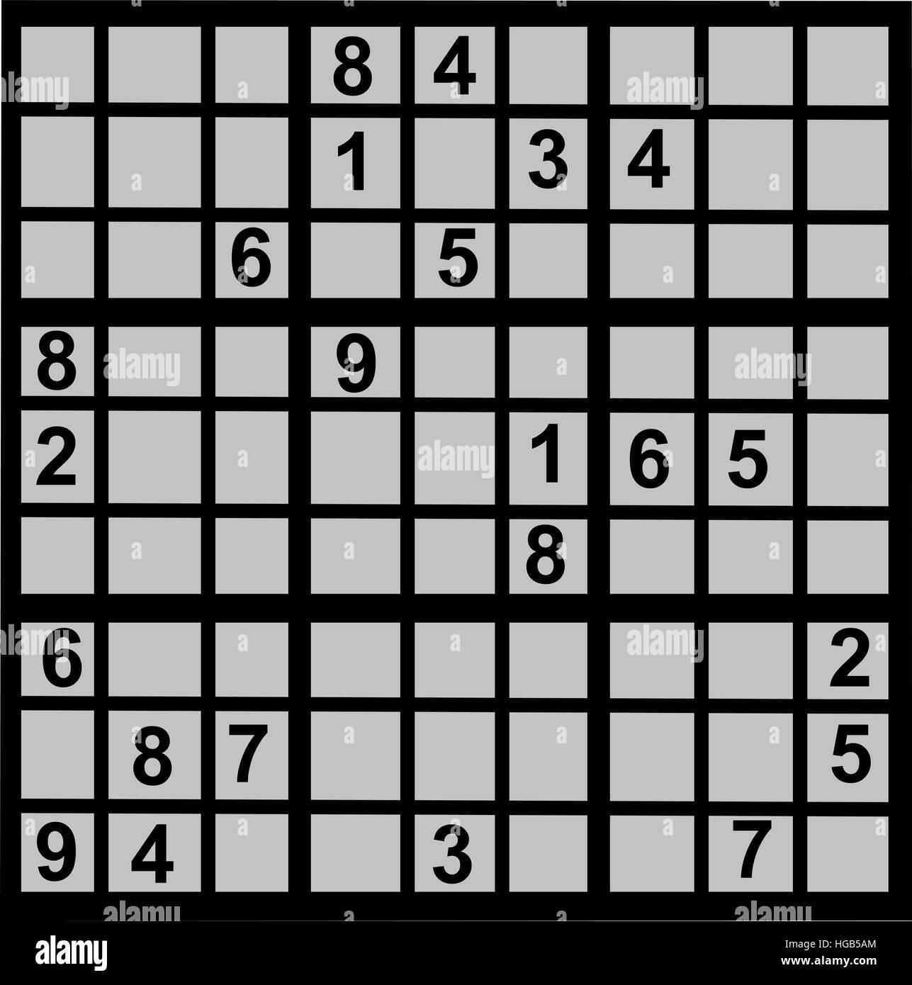 Sudoku Game Stock Photos Amp Sudoku Game Stock Images