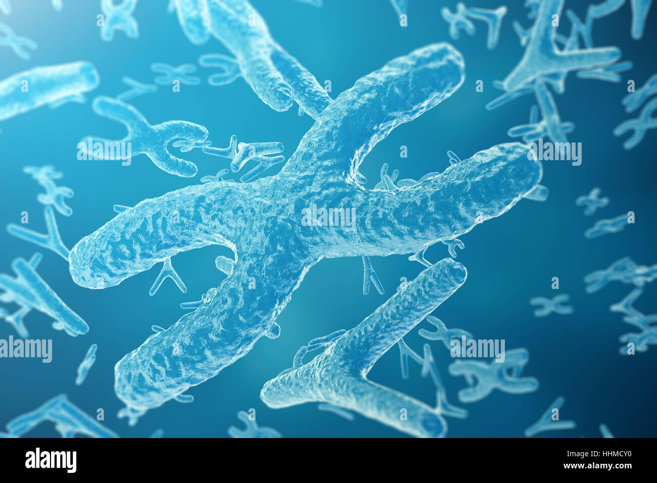 Chromosomes On Scientific Background Life And Biology Medicine Stock Photo Royalty Free Image