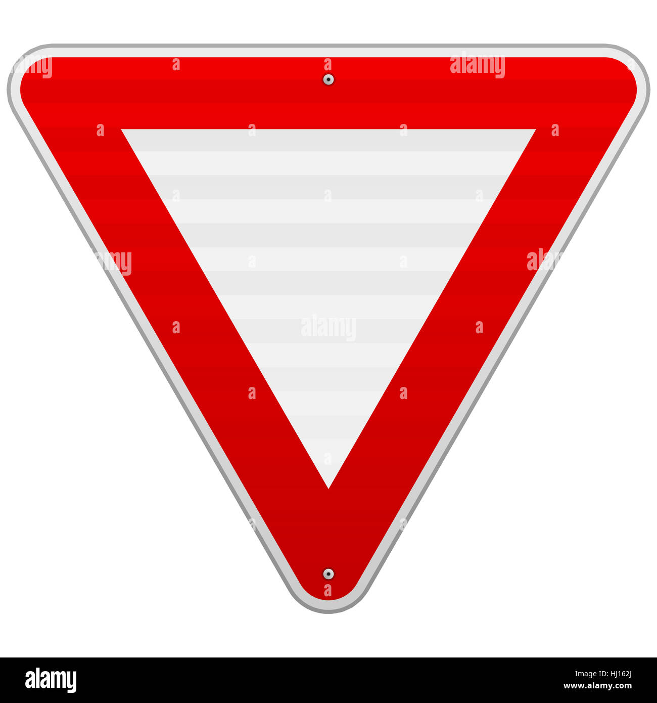 Sign Signal Traffic Transportation Yield Triangle