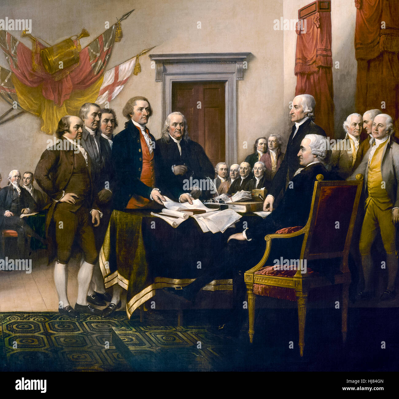 The Committee Of Five Of The Second Continental Congress