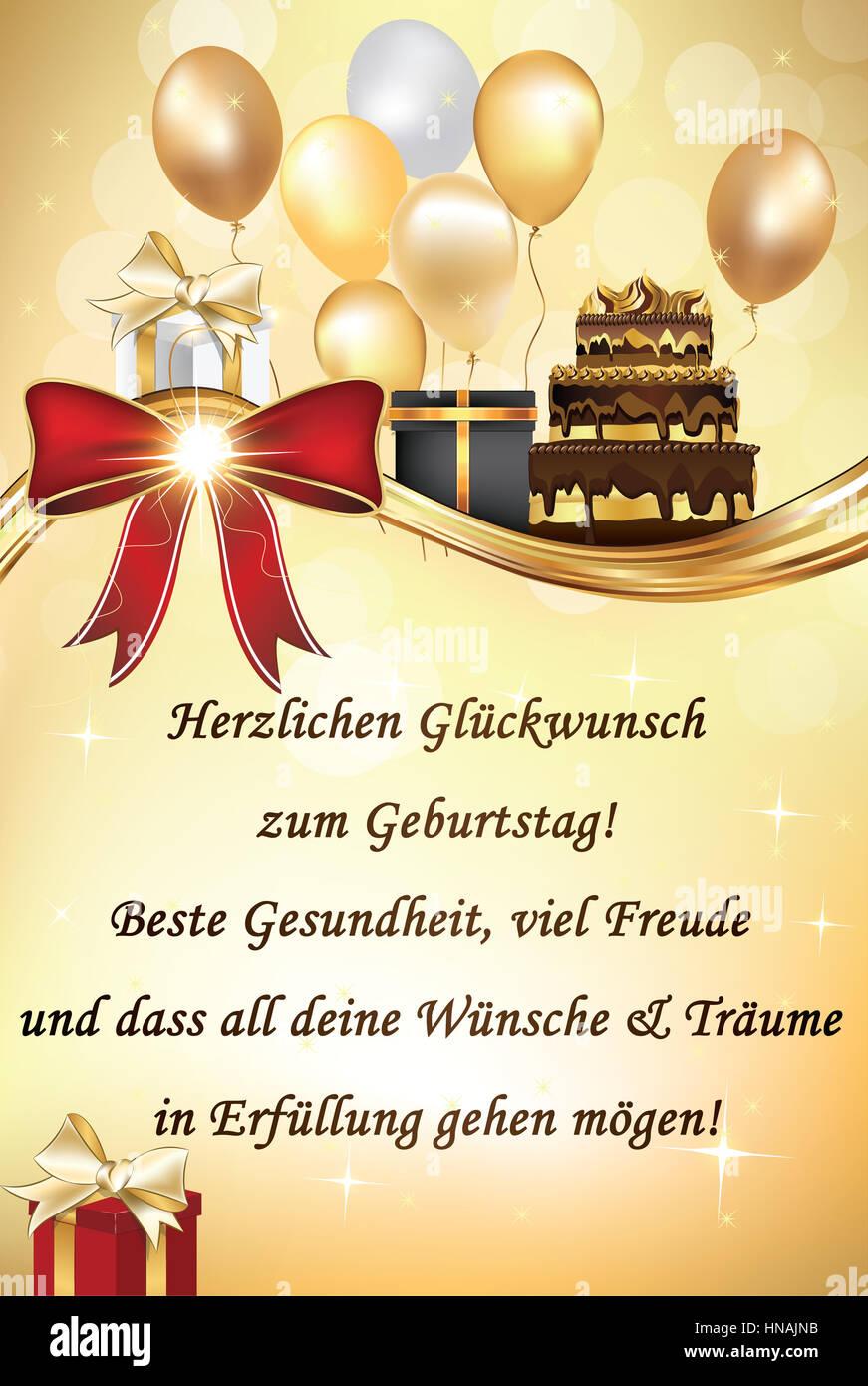 Alles Gute Zum Geburtstag Stock Photos Amp Alles Gute Zum