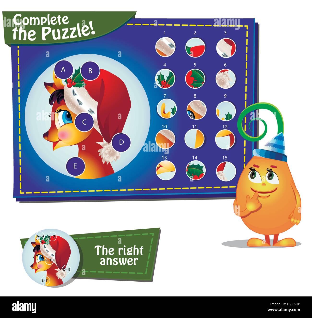 Puzzle Illustration Quiz Stock Photos Amp Puzzle