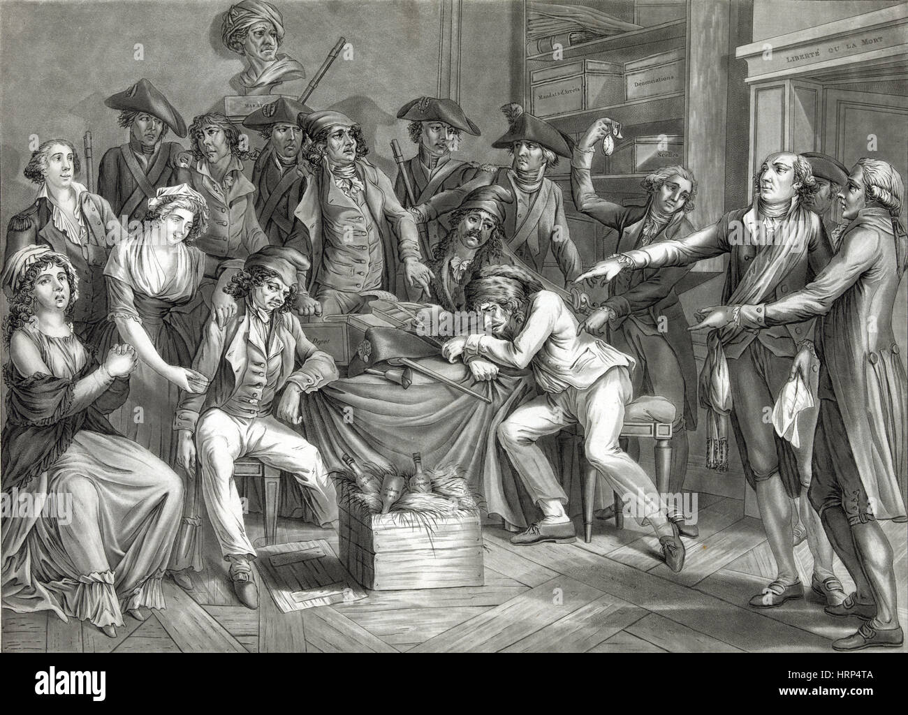 French Revolution Reign Of Terror Stock Photo Royalty