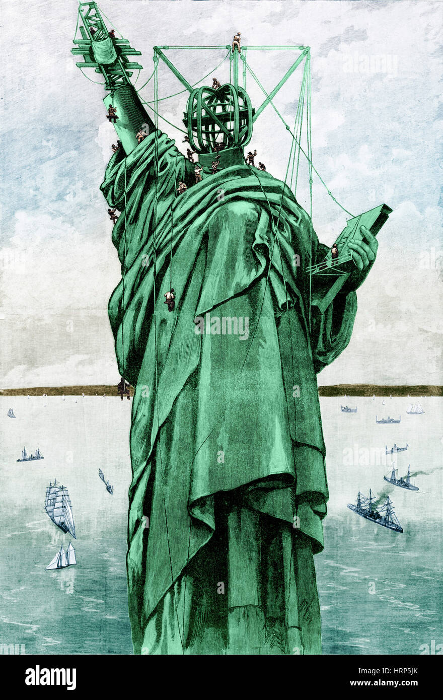 Statue Of Liberty 1886 High Resolution Stock Photography And Images Alamy