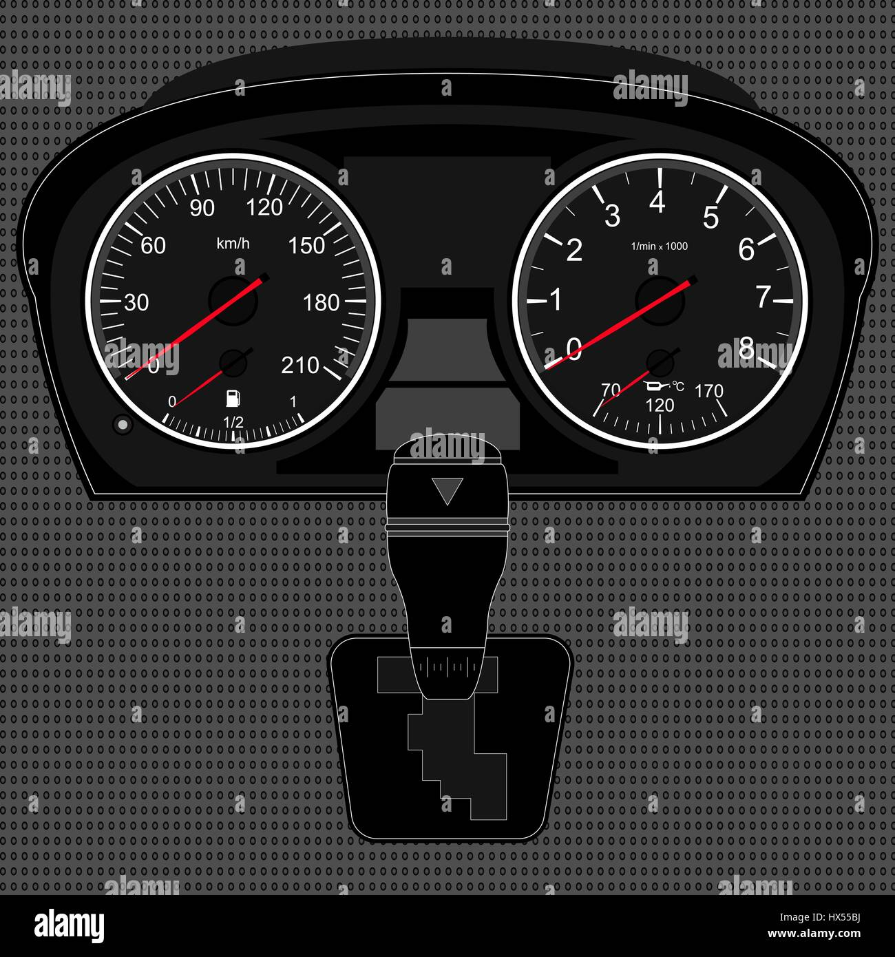 Dashboard Stock Vector Images