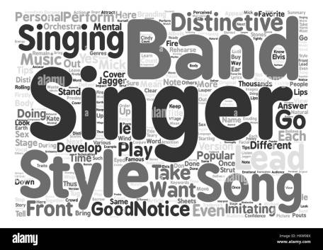 Image result for Singers text