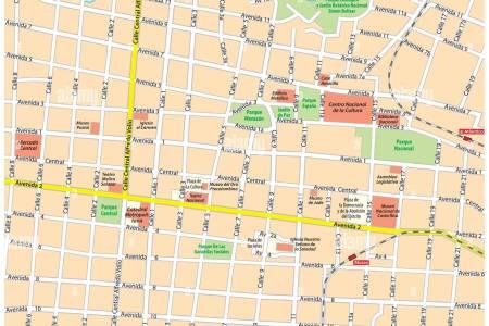 san jose downtown map » ..:: Edi Maps ::..   Full HD Maps