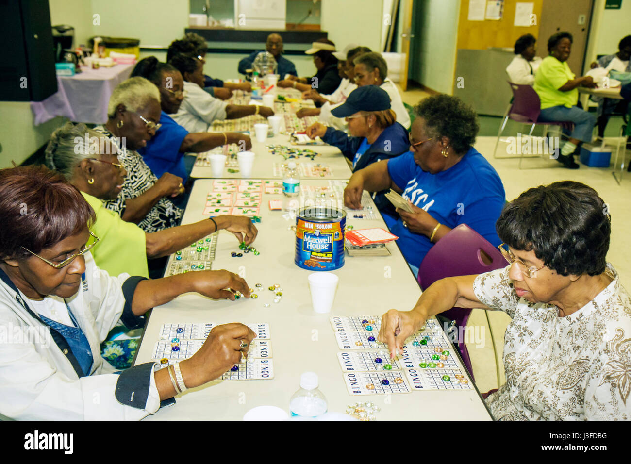 Miami Florida Charles Hadley Park Community Senior Center