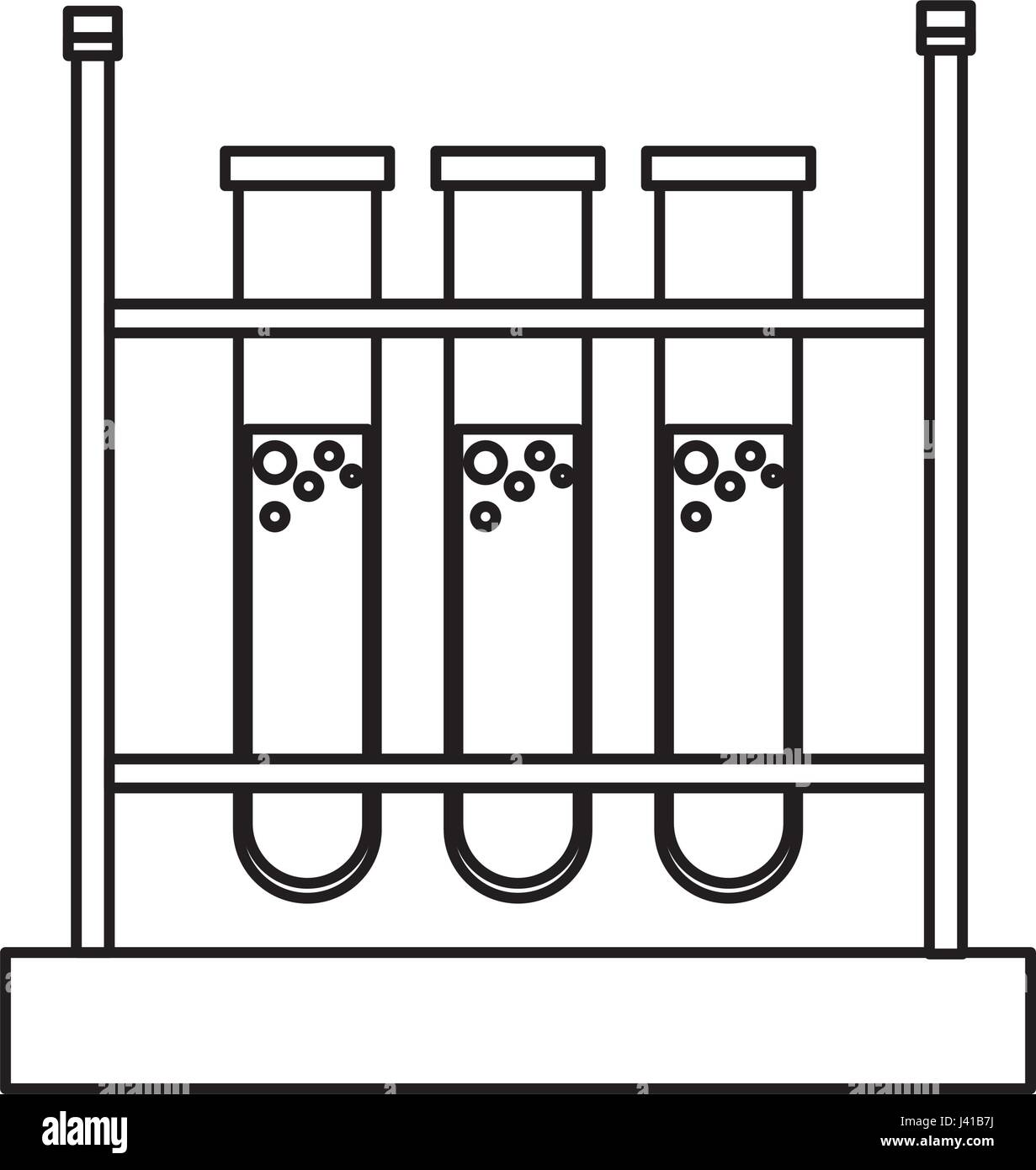 Test Tube Rack Stock Vector Images