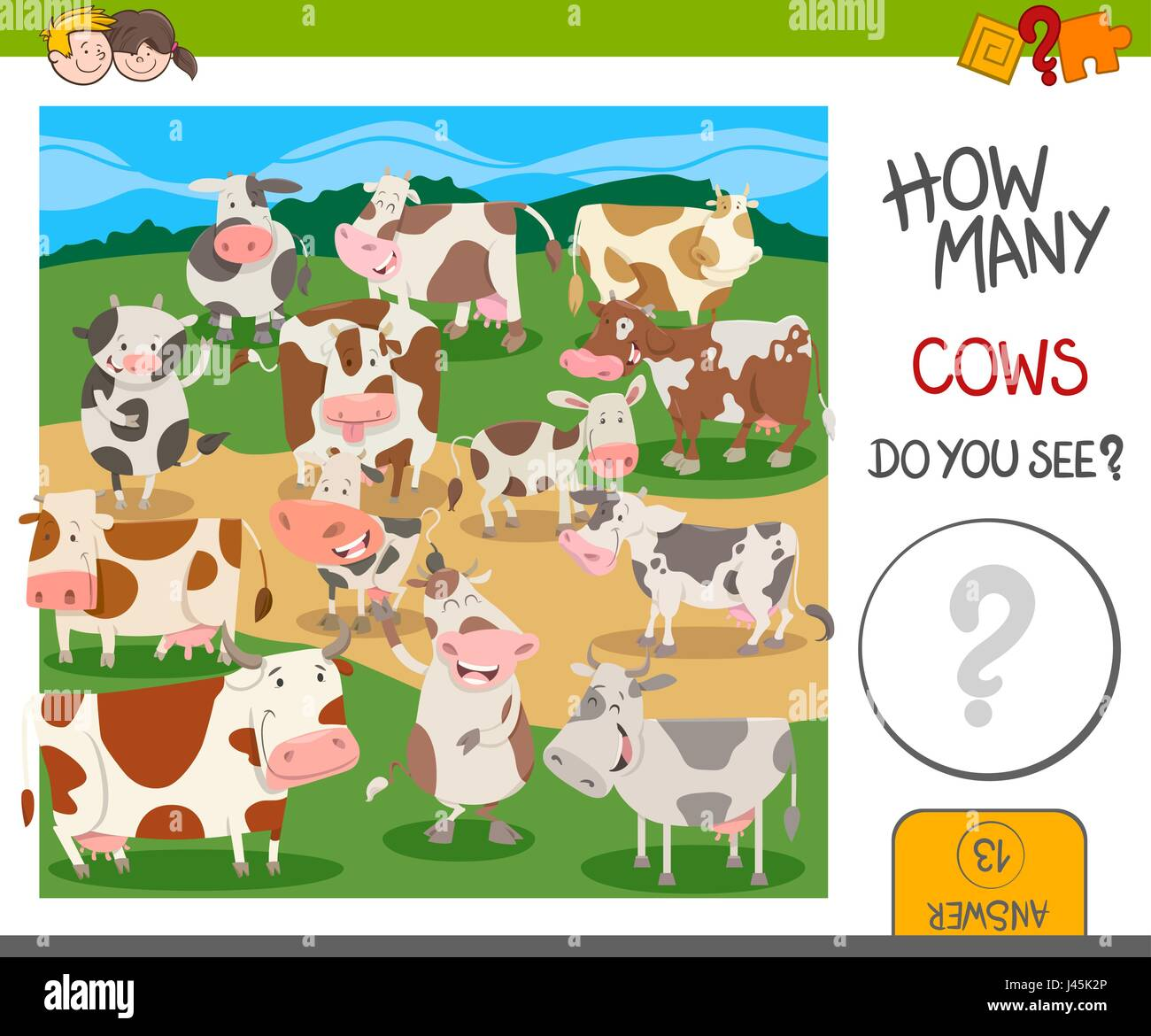 Group Cows Cartoon Stock Photos Amp Group Cows Cartoon Stock
