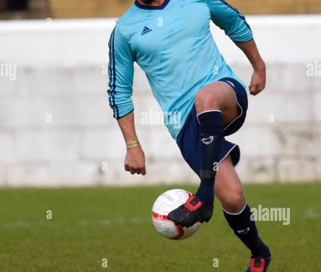 Keiran Lee Playing In A Charity Football Match In Dagenham Space For Copy