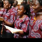 Youth Choir Church High Resolution Stock Photography And Images Alamy