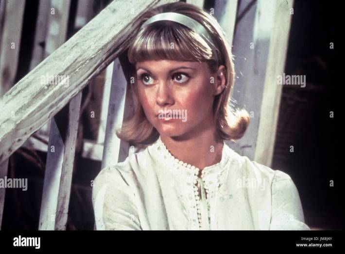 olivia newton john, grease, 1978 stock photo: 150165931 - alamy