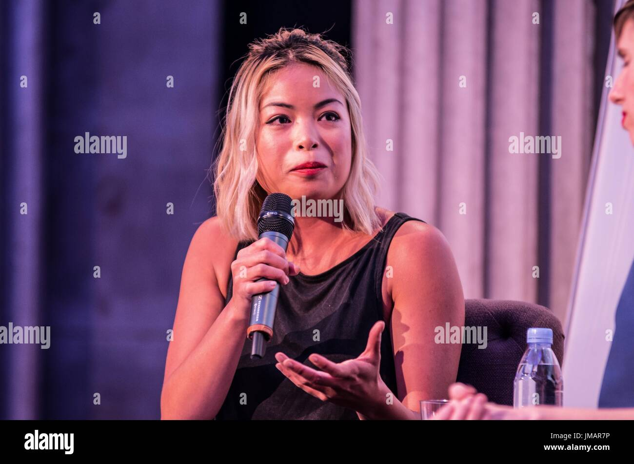 New York  USA  26th July  2017  Jia Tolentino of The New Yorker  Led     Jia Tolentino of The New Yorker  Led by the endowment foundation Humanities  New York  a celebration of the centennial of Women s Suffrage was organized  at