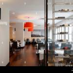Minimal Contemporary Interior Restaurant High Resolution Stock Photography And Images Alamy