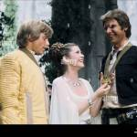 Mark Hamill Carrie Fisher Harrison Ford Star Wars Episode Iv A Stock Photo Alamy