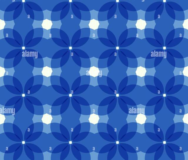 Vector Seamless Pattern Abstract Blue Background Stylish Endless Texture Overlay Art Good For Web Design Flyer Cover Textile