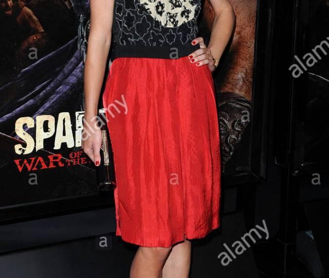 Gwendoline Taylor La Premiere Of Spartacus War Of The Damned Held At Regal Cinemas L A Live
