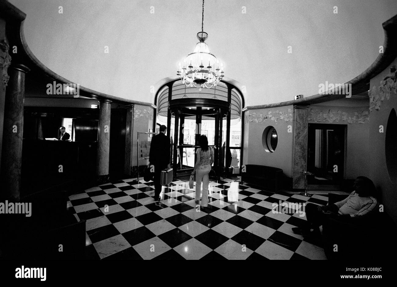 Paris Hotel Lutetia Built In 1910 Art Nouveau And Art Deco Period Stock Photo Alamy
